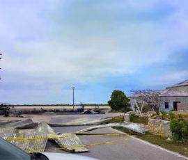 South Caicos Airport fire